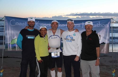 The Crew of the Coast to Kosciuszko ultra marathon