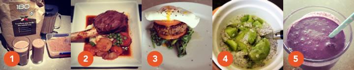 healthy food diary