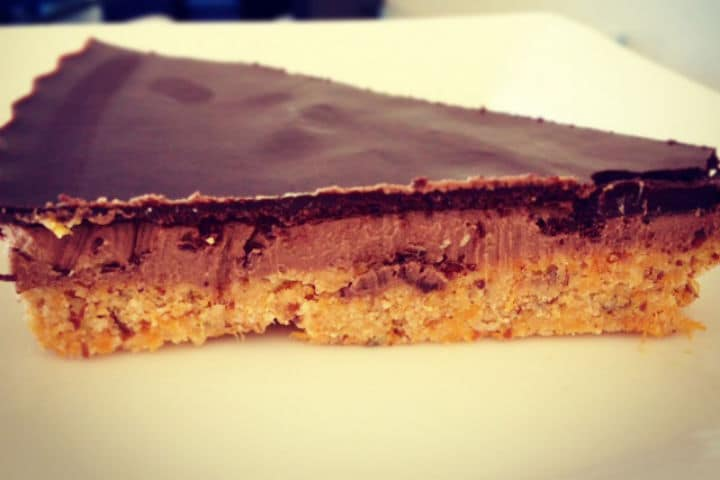 Double Chocolate Peanut Butter Slice