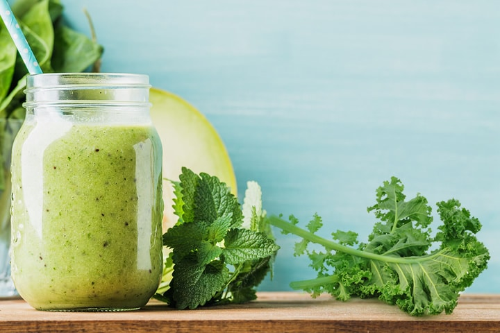 green recovery smoothie
