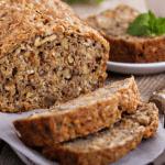 healthy chocolate & carrot walnut loaf