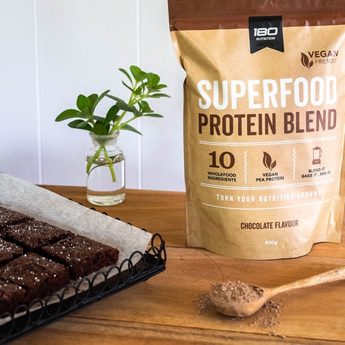 Protein Packed Brownies