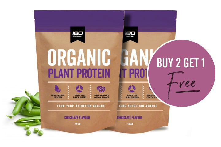 180 Nutrition Plant Protein Promotion