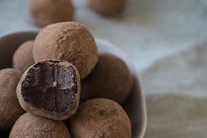 fudge plant based protein balls